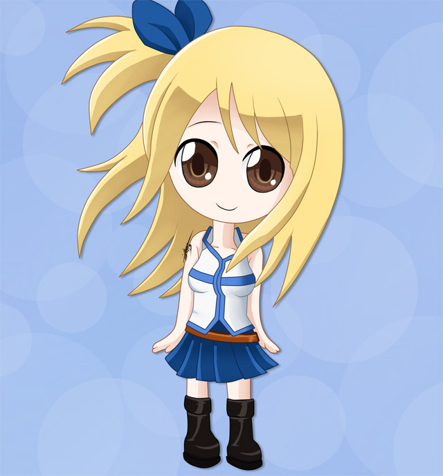 Fairy tail chibi lucy