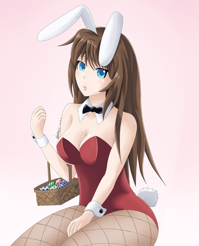 bunny girl drawing
