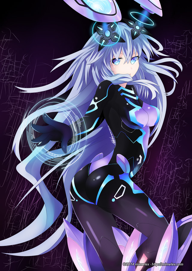 Hyperdimension Neptunia Purple heart next form