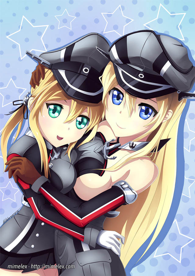 kancolle kantai collection bismarck prinz eugen
