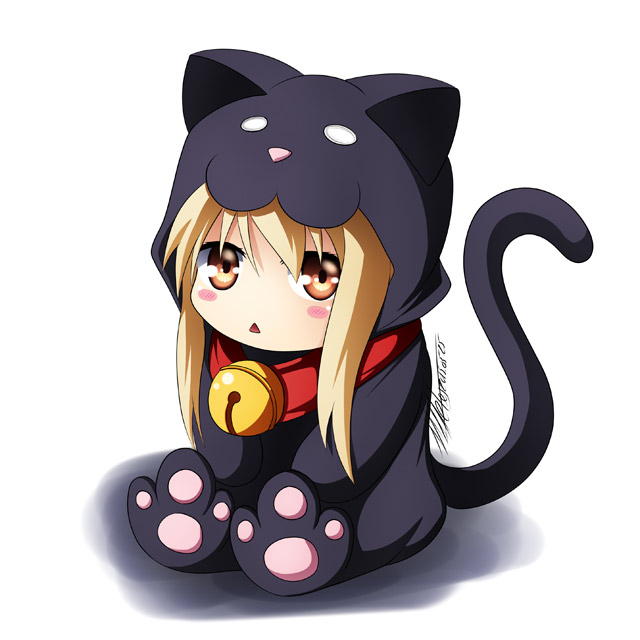 chibi mashiro shiina cat sakurasou no pet na kanojo cute