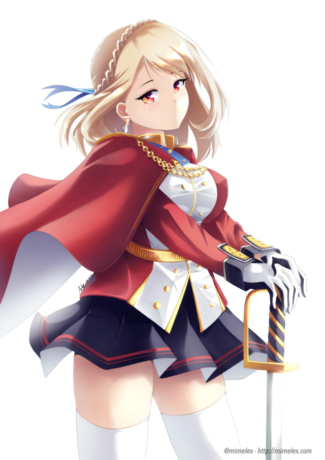 Azur Lane Prince of Wales sexy blonde