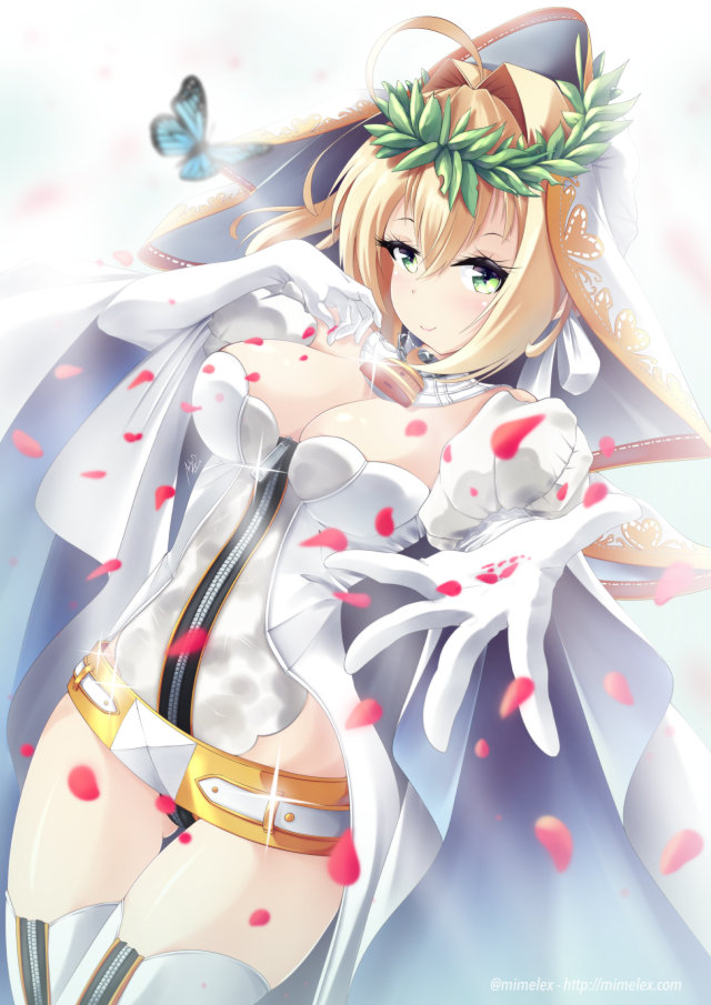 fate grand order nero bride sexy blonde