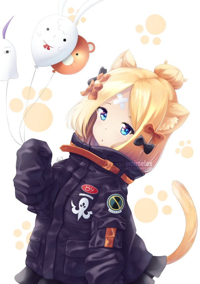 fate grand order abigail williams cute catgirl